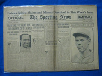 1932 Sporting News December 8 Babe Herman Fair to Good