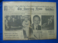 1940 Sporting News Nov 21 Ray Schalk Fair to Good
