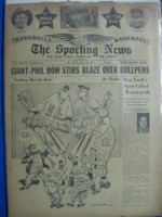 1947 Sporting News Jul 9 All-Star Game Issue : toning on cover, wear on binding - contents fine Fair to Good