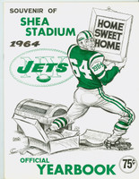 1964 Jets Yearbook Near-Mint Plus