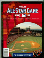 2010 All-Star Program (272 pages) Anaheim Angel Stadium Near-Mint to Mint