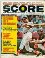 Score Magazine (84 pages) July 1970 Tony Conigliaro (Red Sox) Cover Story