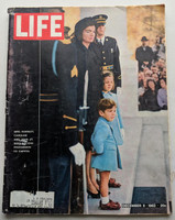 1963 Life Magazine Dec 6 Jacqueline Kennedy (from the Red Schoendienst collection) Very Good
