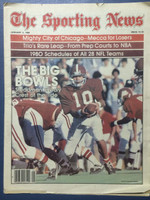 1980 The Sporting News January 5 Steadman Shealy Alabama Crimson Tide Excellent