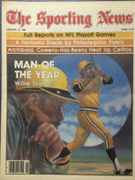 1980 The Sporting News January 12 Willie Stargell Man of the Year Pirates Near-Mint