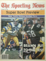 1980 The Sporting News January 26 Super Bowl Preview: Jack Youngblood, Jack Lambert Excellent