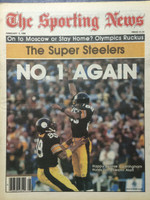 1980 The Sporting News February 2 Steelers Win the Super Bowl Near-Mint