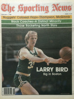 1980 The Sporting News February 9 Larry Bird Boston Celtics Near-Mint