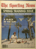 1980 The Sporting News March 8 Spring Training Issue - Keith Hernandez (cover) Cardinals Near-Mint