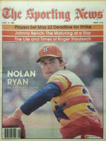 1980 The Sporting News April 19 Nolan Ryan Astros Near-Mint