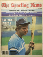 1980 The Sporting News April 26 George Brett Near-Mint