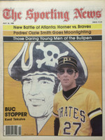 1980 The Sporting News May 10 Kent Tekulve Pirates Excellent