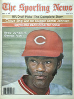 1980 The Sporting News May 17 George Foster Reds Excellent