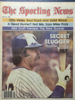 1980 The Sporting News May 24 Gorman Thomas Brewers Excellent