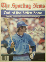 1980 The Sporting News June 7 Dave Kingman Cubs Near-Mint