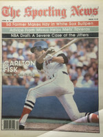 1980 The Sporting News June 14 Carlton Fisk Red Sox Near-Mint