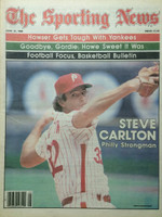 1980 The Sporting News June 21 Steve Carlton Phillies Near-Mint