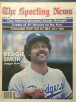 1980 The Sporting News June 28 Reggie Smith Dodgers Near-Mint