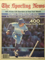 1980 The Sporting News September 20 George Brett Near-Mint