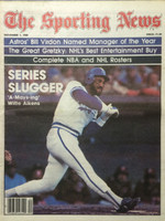 1980 The Sporting News November 1 Willie Aikens Royals Near-Mint