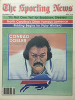 1980 The Sporting News November 29 Conrad Dobler Bills Near-Mint