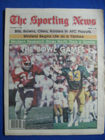 1981 The Sporting News January 3 Herschel Walker (The Bowl Games) Georgia Near-Mint