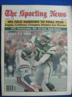 1981 The Sporting News January 17 Eagles Fly High - Philadelphia Eagles Near-Mint
