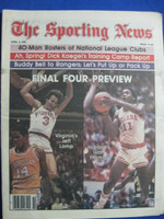 1981 The Sporting News April 4 Final Four Preview (Isiah Thomas cover) Near-Mint