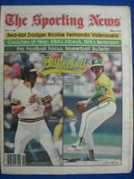 1981 The Sporting News May 9 Billy Ball Oakland Athletics (Armas, Keough cover) Near-Mint