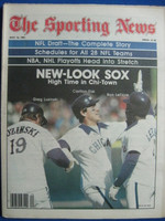 1981 The Sporting News May 16 New Look White Sox (Fisk, Luzinski, LeFlore cover) Near-Mint