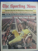 1981 The Sporting News July 25 Chuck Tanner - Baseball: The Waiting Game (strike continues) Near-Mint