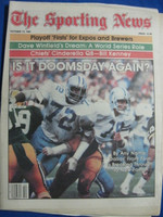 1981 The Sporting News October 17 Dallas Doomsday Defense Near-Mint