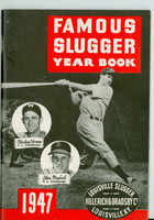 1947 Famous Slugger Yearbook (66 pg) Cover: Stan Musial - Mickey Vernon Near-Mint [Very clean]