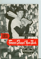 1955 Famous Slugger Yearbook (66 pg) - Cover: Ted Williams Near-Mint [Very clean]