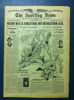 1945 Sporting News April 12 1945 Browns Mascot Very Good [CUT OUT - Coupon on back cover has been cut out, only Ads are impacted, ow contents fine]