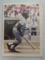 1970 Sporting News January 17 Willie Mays Giants Near-Mint [Minor newsprint along binding, ow very clean]