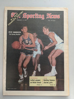 1970 Sporting News February 14 Pete Maravich LSU Near-Mint [Minor newsprint along binding, ow very clean]