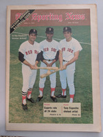 1970 Sporting News April 11 Carl Yastrzemski, Tony Conigliaro and Reggie Smith Red Sox Near-Mint [Very clean]