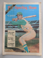 1970 Sporting News April 25 Bert Campaneris A's Excellent [Minor newsprint along binding, ow very clean]