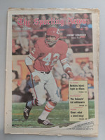 1970 Sporting News December 26 Johnny Robinson Chiefs Very Good [Heavy fraying, dog ear on bottom edge]