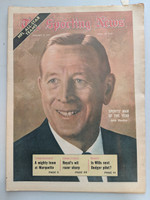 1971 Sporting News January 9 John Wooden UCLA Near-Mint [Very clean]