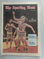 1971 Sporting News January 23 Dan Issel Kentucky Colonels Near-Mint [Stray print mark on cover]