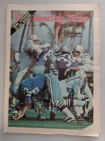 1971 Sporting News January 30 Super Bowl V Excellent [Minor corner dogear, ow clean]