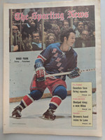 1971 Sporting News February 6 Brad Park NY Rangers Near-Mint [Very clean]