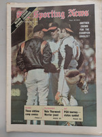 1971 Sporting News February 27 Jim Palmer Orioles Near-Mint [Fraying on top edge, ow clean]