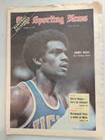 1971 Sporting News March 13 Sidney Wicks UCLA Excellent [Fraying on top edge, ow clean]