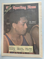 1971 Sporting News March 27 Mel Daniels Pacers Near-Mint [Clean example]