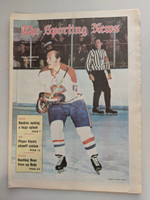 1971 Sporting News April 3 Yvan Cournoyer Canadiens Excellent [Clean example]