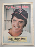 1971 Sporting News April 24 Tony Conigliaro Angels Near-Mint [Clean example]
