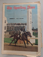 1971 Sporting News May 15 Canonero II - Kentucky Derby Very Good to Excellent [Heavy fraying, tears on edges]